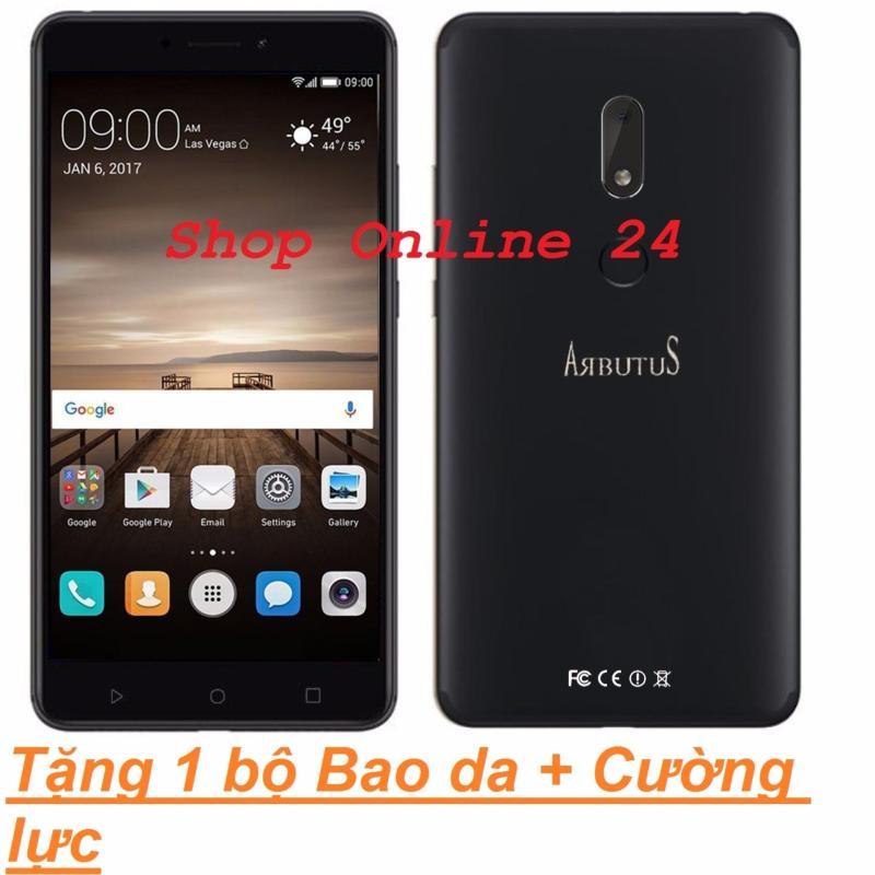 Arbutus Max 8s 32G Ram 2GB (Đen) + Bao Da + Cường lực - Hàng nhập khẩu