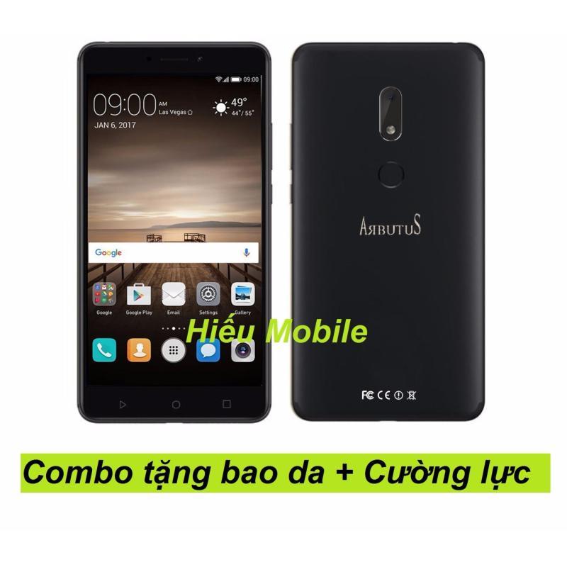 Arbutus Max 8s 32G Ram 2GB (Đen) + Bao da + Kính cường lực - Hàng nhập khẩu