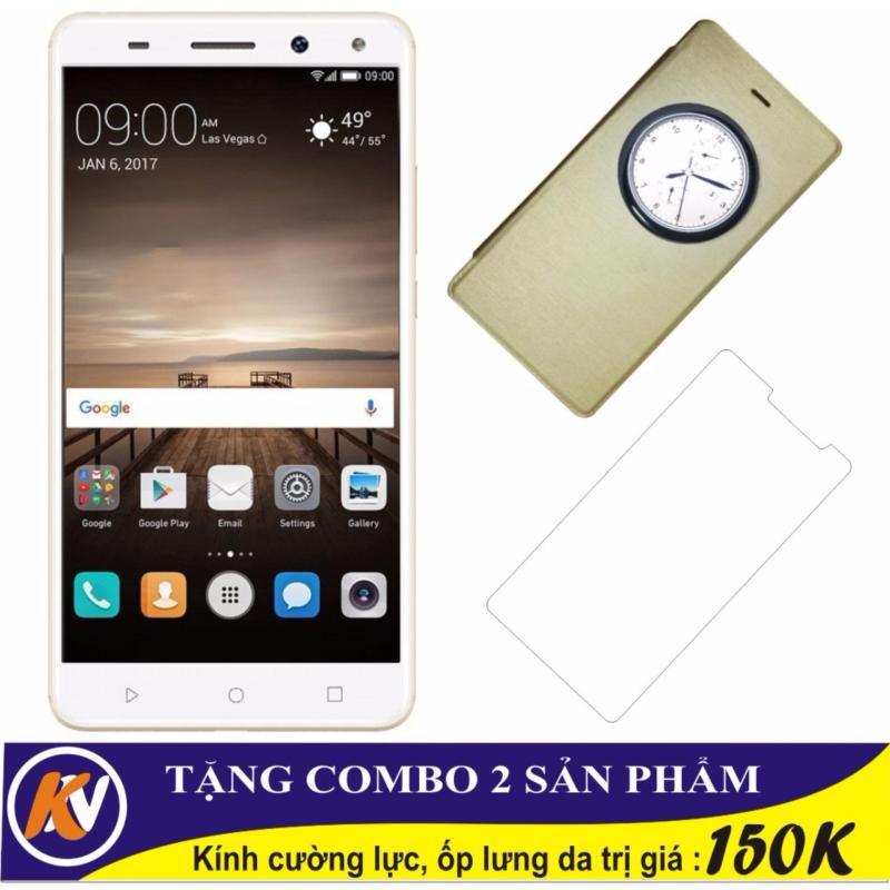 Arbutus Max 8S 32GB Ram 2GB Kim Nhung (Vàng) - Hàng nhập khẩu + Cường lực + Ốp lưng da