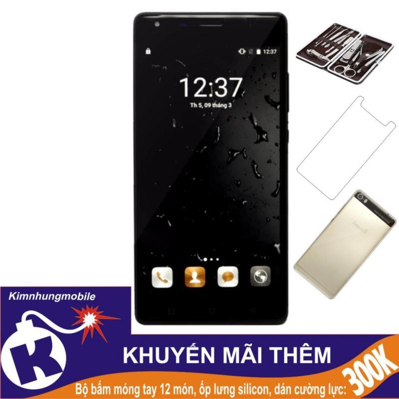 Arbutus Max Pro 16GB (Đen) - Hàng nhập khẩu + Dán cường lực + Ốp lưng silicon + Bộ bấm móng tay 12 món