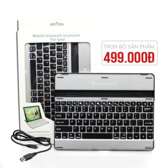 Bàn phím cho Ipad 2 cao cấp, bàn phím bluetooth Apple