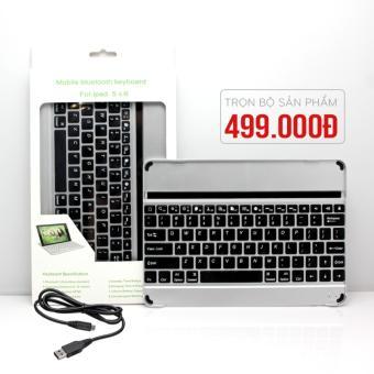 Bàn phím cho Ipad 5 và 6cao cấp, bàn phím bluetooth Apple
