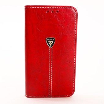 Bao da điện thoại SamSung S5 (Đỏ) + Tặng kèm dây cáp sạc