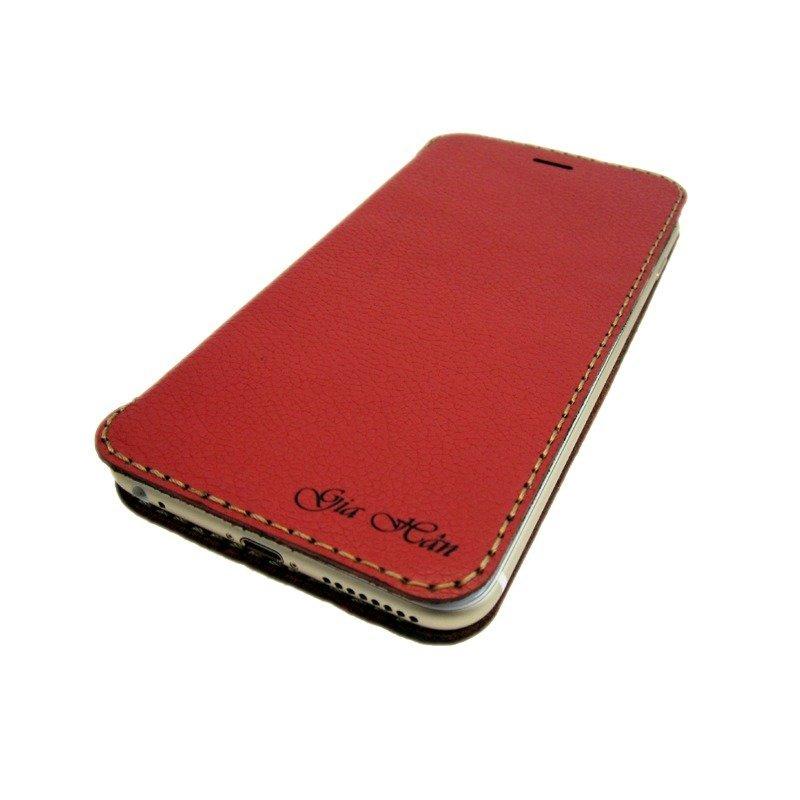 Hình ảnh Bao da flip cover cho điện thoại IPhone 6 Plus/ 6S Plus - Davis(Đỏ)