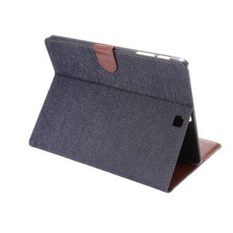 Bao da Jean Samsung Galaxy Tab S2 8.0 T715 (Đen)