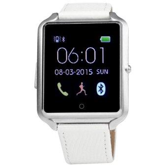 Bluboo U watch Smart Watch MTK2501 Bluetooth 4.0 Smartwatch(Silver) - intl