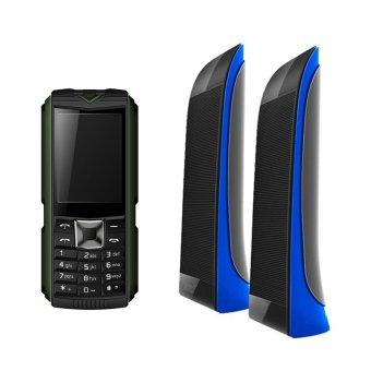 Báo Giá Bộ 1 ĐTDĐ Suntek X5 Plus (Xanh) và 1 Loa Suntek VN-818 (Xanh)