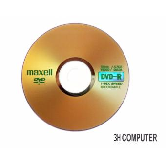 BỘ 10 ĐĨA DVD MAXCELL 4.7G