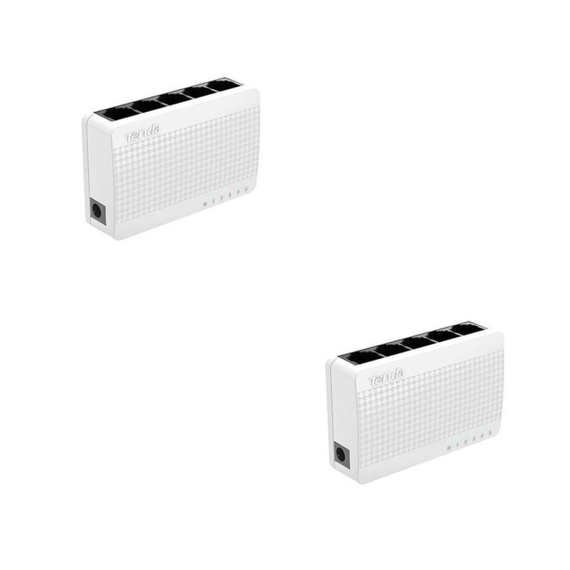 Bảng giá Bộ 2 Switch Tenda 5 port Phong Vũ