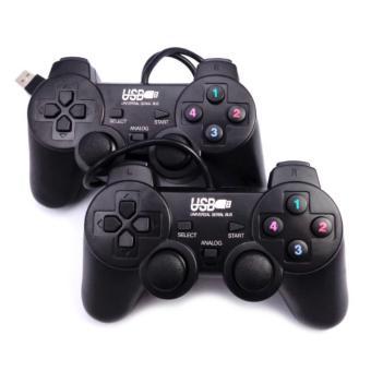 Bộ 2 tay cầm chơi game đôi cho PC