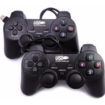 Bộ 2 tay cầm chơi game đôi cho PC/Laptop cổng USB có rung (đen) - 8727255 , SE772ELAA57VKYVNAMZ-9597323 , 224_SE772ELAA57VKYVNAMZ-9597323 , 180000 , Bo-2-tay-cam-choi-game-doi-cho-PC-Laptop-cong-USB-co-rung-den-224_SE772ELAA57VKYVNAMZ-9597323 , lazada.vn , Bộ 2 tay cầm chơi game đôi cho PC/Laptop cổng USB có rung (