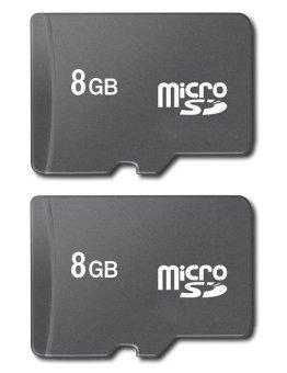Bộ 2 thẻ nhớ Micro SD 8GB (Đen) shopping