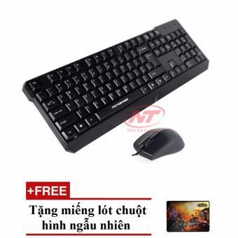 Bộ bàn phím Motospeed K700 và chuột M700 (Đen) + Tặng lót chuột hình ngẫu nhiên