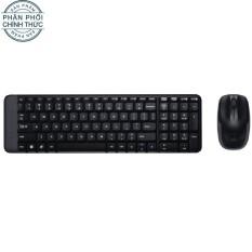 Bộ bàn phím và chuột không dây Logitech MK215 (Đen) - Hãng phân phối chính thức