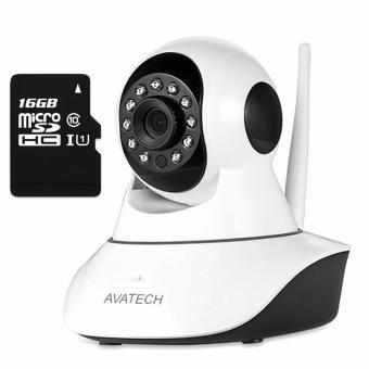 Bộ Camera quan sát IP Wi-Fi AVATech 6300A 1.0 (Trắng) kèm thẻ nhớ 16GB - 8046972 , AV874ELAA38544VNAMZ-5640327 , 224_AV874ELAA38544VNAMZ-5640327 , 899000 , Bo-Camera-quan-sat-IP-Wi-Fi-AVATech-6300A-1.0-Trang-kem-the-nho-16GB-224_AV874ELAA38544VNAMZ-5640327 , lazada.vn , Bộ Camera quan sát IP Wi-Fi AVATech 6300A 1.0 (Trắng