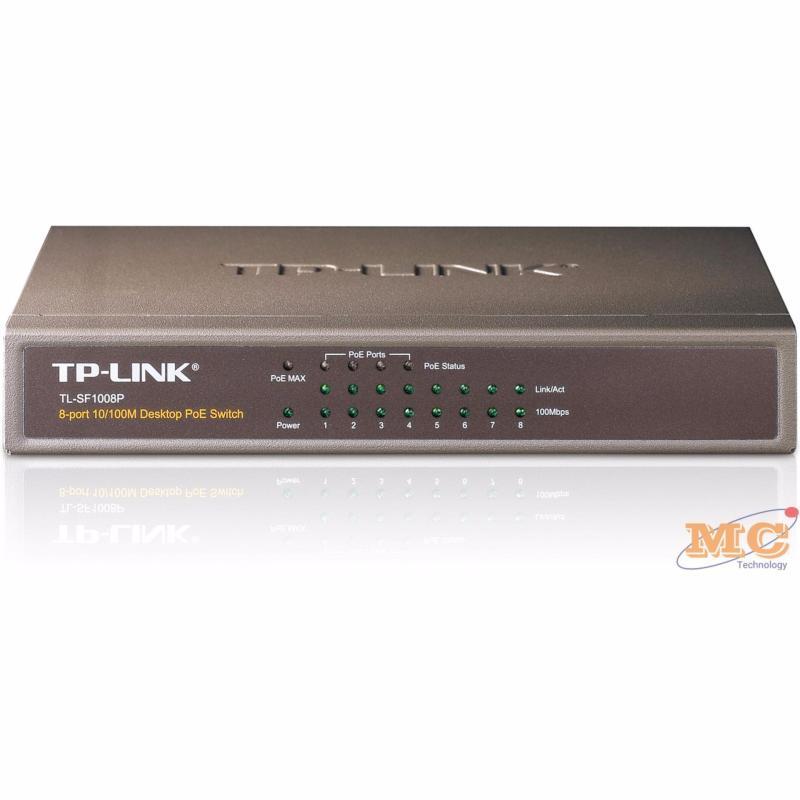 Bảng giá Bộ chia mạng 8 cổng 10/100Mpbs với 4 cổng PoE Tp-Link TL-SF1008P Phong Vũ