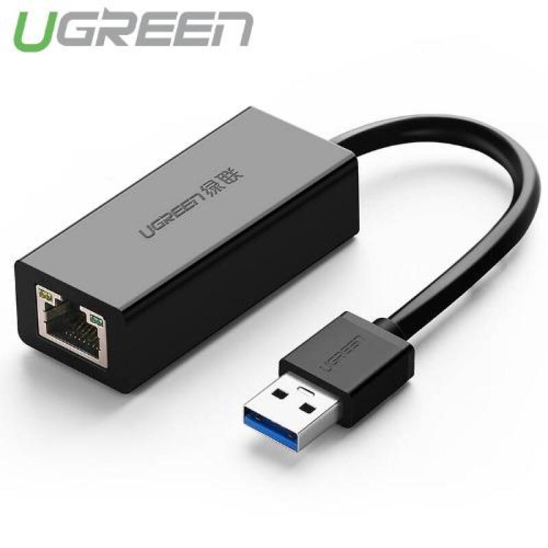Bảng giá Bộ chuyển đổi USB 3.0 sang LAN 10/100/1000 Mbps CR111 20256 (Đen) Phong Vũ