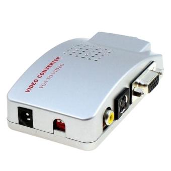 Bộ chuyển VGA-AV China (Trắng)