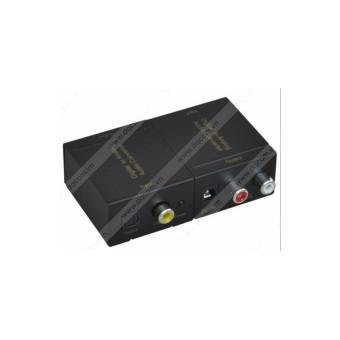 Bộ Converter quang sang RCA - Digital to Analog Audio R/L DQ 1305
