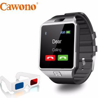 Bộ đồng hồ thông minh Cawono Z09 (Đen bạc) và kính giấy xem phim 3D