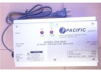 Bộ khuếch đại truyền hình cáp Pacific PDA-8640