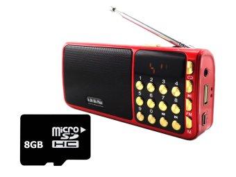 Bộ Loa nghe nhạc USB FM SA-932 (Đỏ) và Thẻ nhớ 8GB - 8372068 , OE680ELAA1EIM4VNAMZ-2218761 , 224_OE680ELAA1EIM4VNAMZ-2218761 , 358000 , Bo-Loa-nghe-nhac-USB-FM-SA-932-Do-va-The-nho-8GB-224_OE680ELAA1EIM4VNAMZ-2218761 , lazada.vn , Bộ Loa nghe nhạc USB FM SA-932 (Đỏ) và Thẻ nhớ 8GB