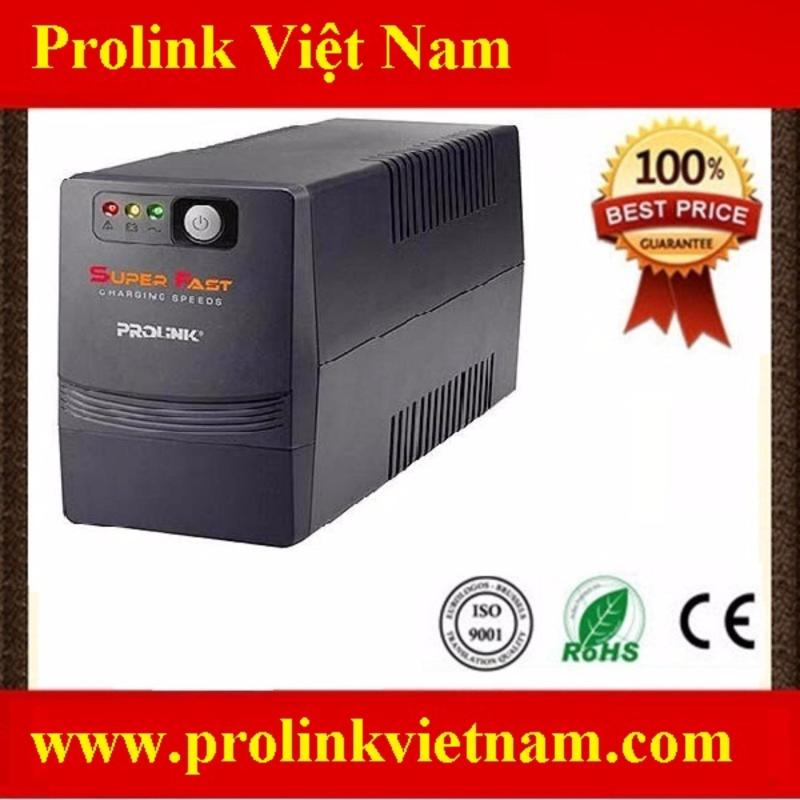 Bảng giá Bộ lưu điện UPS Prolink Pro700SFC Phong Vũ