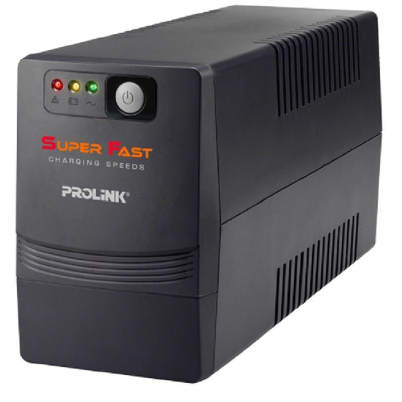 Bảng giá Bộ Lưu Điện UPS PROLINK PRO700SFC 650VA (Đen) Phong Vũ