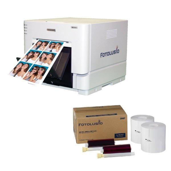 Bảng giá Bộ máy in ảnh DNP RX1 + 1 Thùng giấy 1,400 ảnh (10x15) - Hàng nhập khẩu Phong Vũ