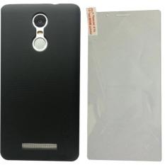 Bộ ốp lưng sần nillkin Xiaomi Redmi Note 3 (Đen) và kính cường lực cho Xiaomi Redmi Note 3