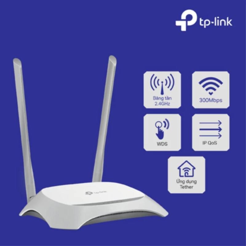 Bảng giá Bộ phát sóng Wifi 2 râu TP-Link TL-WR840N Phong Vũ