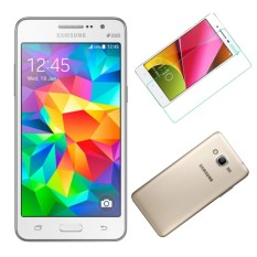 Bộ Samsung Galaxy Grand Prime G530 8GB (Trắng) + Ốp lưng + dán màn hình- Hàng nhập khẩu chính hãng