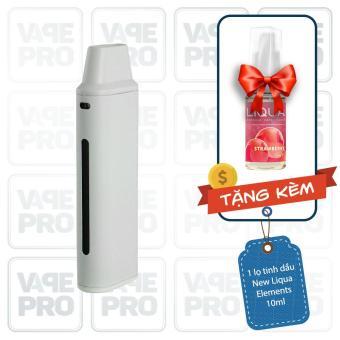 Bộ sản phẩm Eleaf iCare Mini (White) tặng 1 lọ tinh dầu New Liqua 10ml vị Dâu