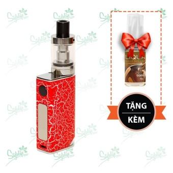 Bộ sản phẩm thuốc lá điện tử (vape) Ovancl P9 (Red) tặng 1 lọ tinh dầu New Liqua 10ml vị Cà phê