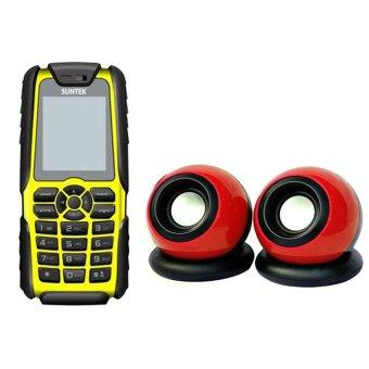Giá bán Bộ Suntek A8 Plus (Vàng) + Loa Suntek IF-10 (Đỏ)