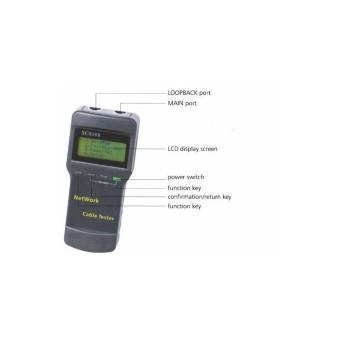 Bộ test và đo chiều dài cáp mạng, cáp điện thoại, cáp đồng trục SC8108