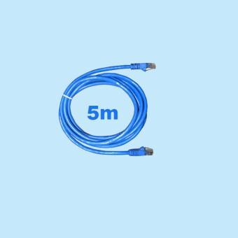 Cable mạng 5 mét bấm sẵn Cat5 xanh  Đang Giảm Giá Tại SKYTECH VIỆT NAM