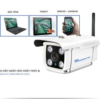Camera An ninh ngoài trời chống nước Super Net (có LAN và Âm thanh) Yoosee Agiadep