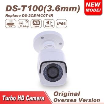 Camera chính hãng Hikvision cho độ nét cao DS-T100 TVI màu trắng