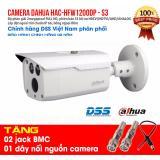 Camera DAHUA HAC-HFW1200DP-S3 tặng jack BMC, dây nguồn