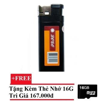 Camera hình bật lửa cho deal 24h (Đen) + Tặng Thẻ nhớ 16GB