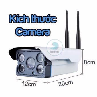 Camera IP Detek X5300 ngoài trời chống nước dùng app Yoosee - 5