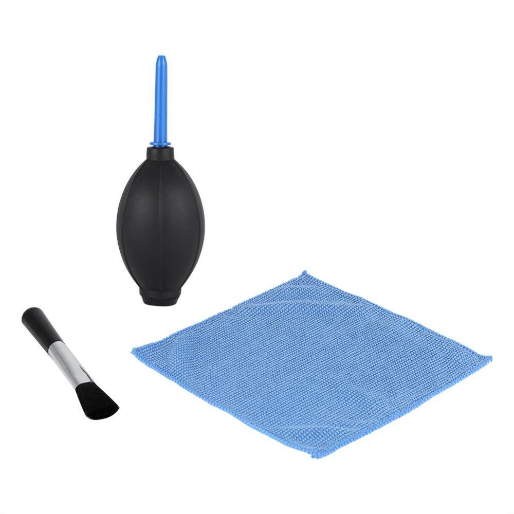 Giá sốc Camera Lens Screen Cleaning Dust Brush Cloth Kit For DSLR Cameras - intl rẻ nhất