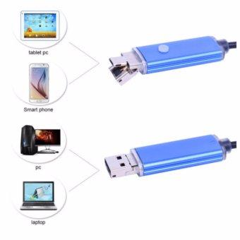 Camera nội soi 8mm 10m, dùng cho điện thoại di động Android, PC
