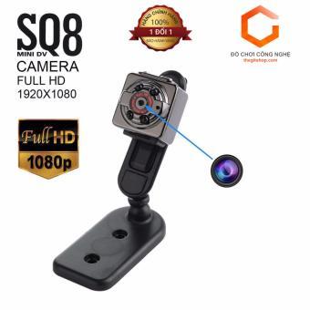 Camera  siêu nhỏ gọn Full HD SQ8  - Đèn hồng ngoại quay đêm