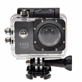 Camera thể thao Action Waterproof HD 1080P (Đen)