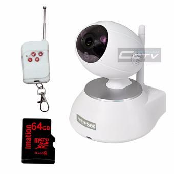 Camera Yoosee YS1600 + thẻ nhớ 64GB + nút điều khiển xa