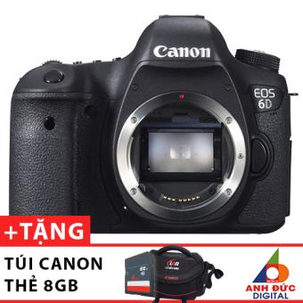 Canon EOS 6D body + Tặng túi Canon và thẻ nhớ 8GB - Hãng phân phối chính thức