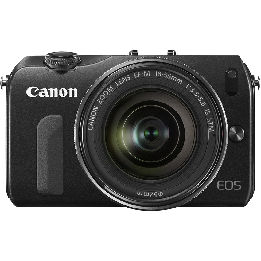Canon EOS M + EF-M 18.1MP với Lens Kit 18-55mm F3.5-5.6 IS STM (Đen)
