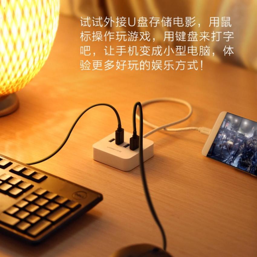 Hình ảnh Cáp chia USB Type-C ra 4 cổng USB 3.0 Ugreen - 30316 Gia Bách
